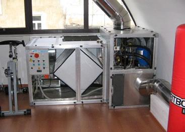 Pompe di calore - Scambiatori di calore aria aria casa ...